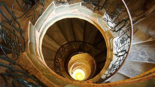 spiral staircase austria architecture