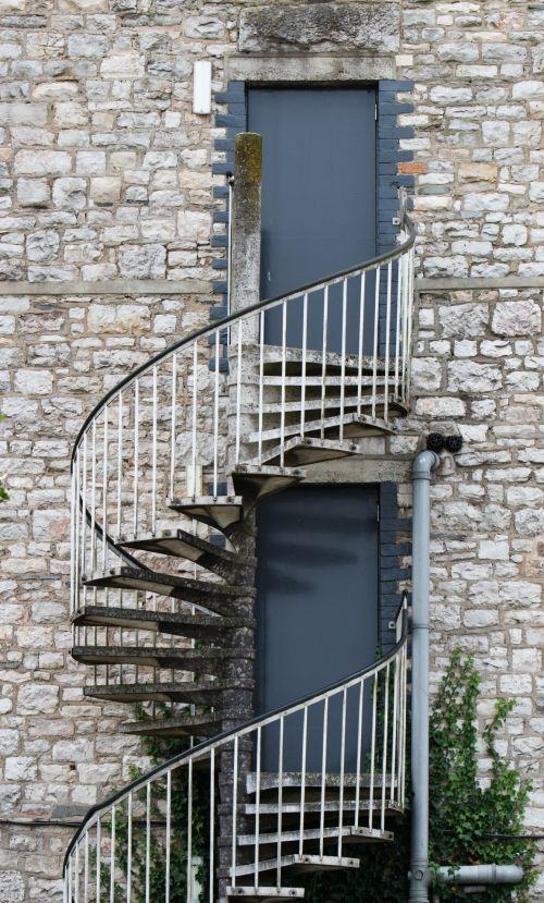 Spiral Staircase Fire Escape