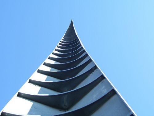 spire architecture sky
