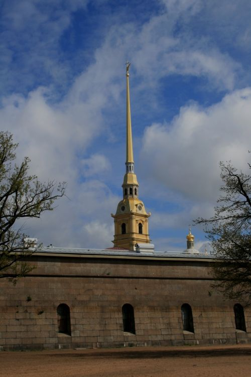 Spire Of Peter And Paul Fortress