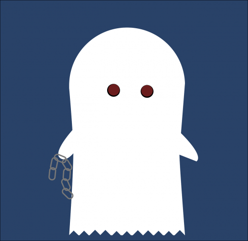 spirit halloween ghost