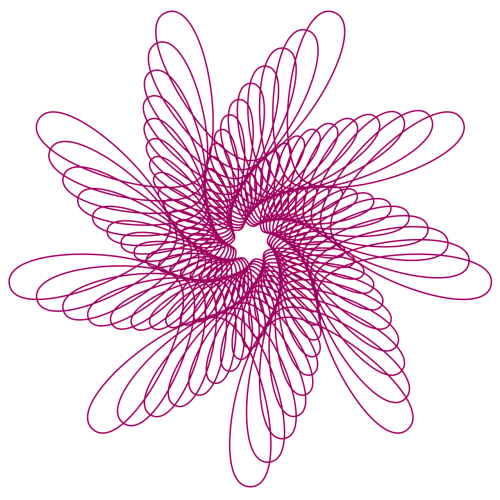 spirograph abstract pattern
