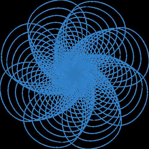 spirograph pattern design
