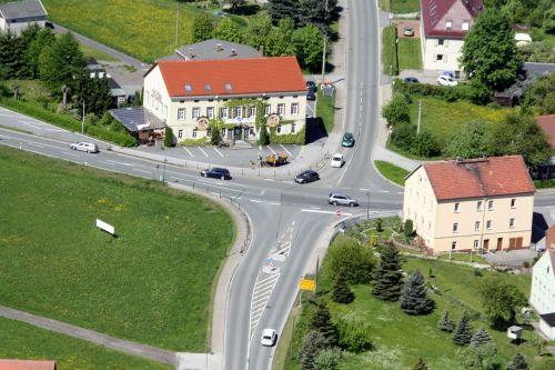 spitzkunnersdorf junction aerial view