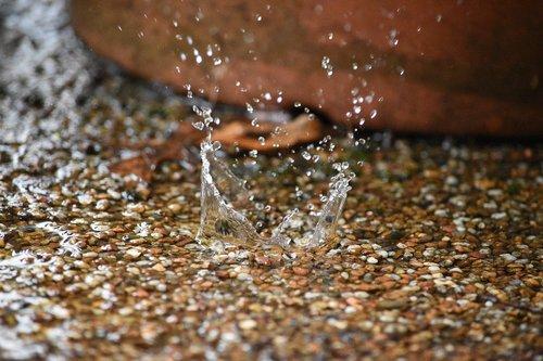 splash  raindrop  rain