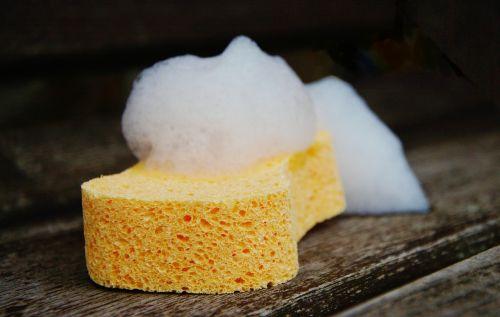 sponge foam clean