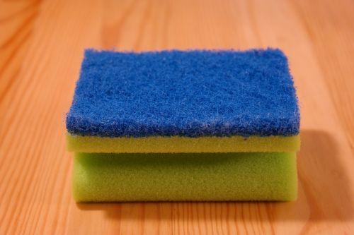 sponge clean rinse