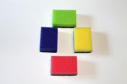 sponge colorful sponges