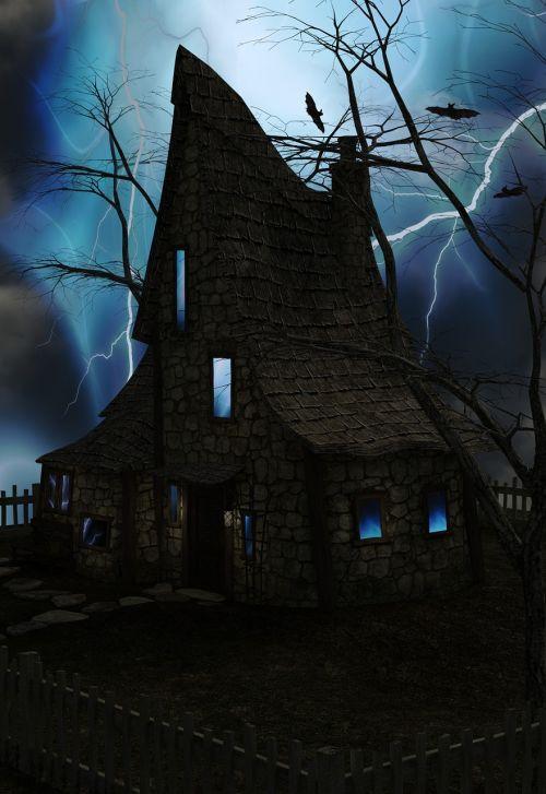 spooky home flash