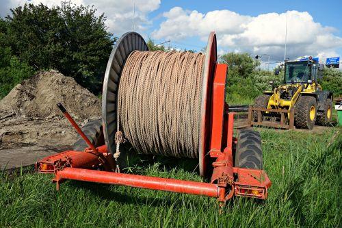 spool rope winding