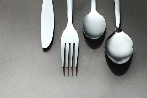 spoon fork tableware