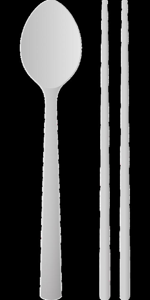 spoons chopsticks spoon