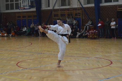 sport karate training