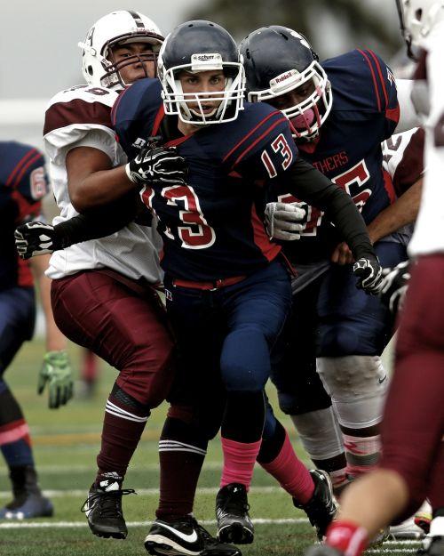 sport football defense