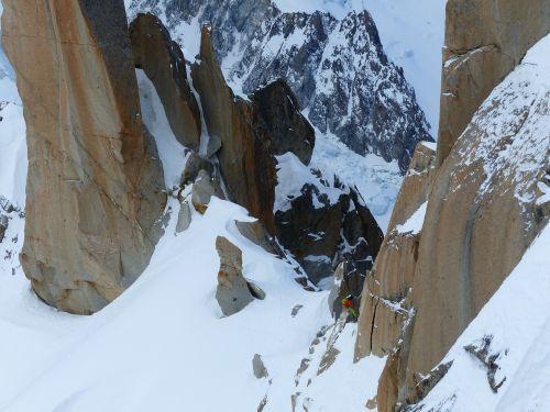 sport climbing mountain
