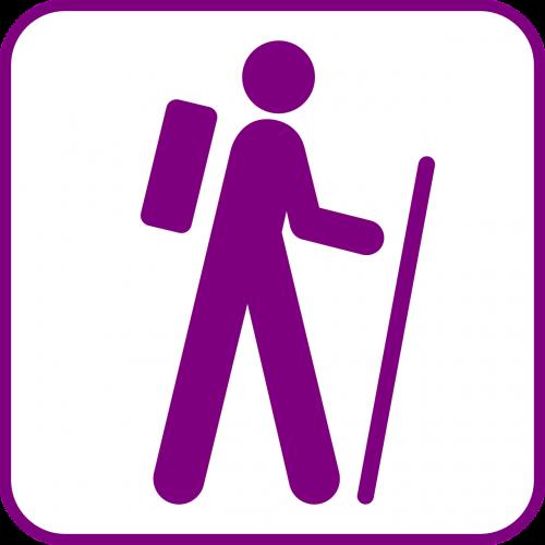 sport hiking wanderer