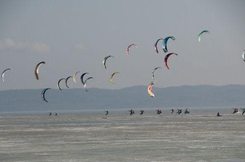 sport snowkite kite