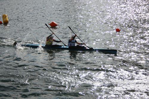 sport canoeing water
