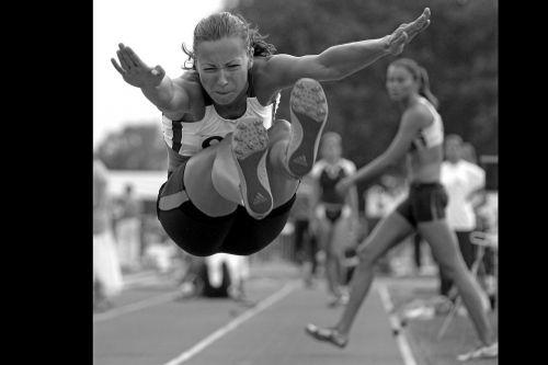 sport jump long jump