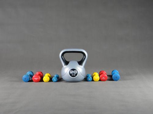sport gym dumbbell