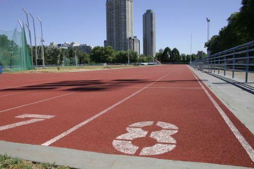 sports track athletics
