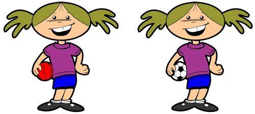 sports girl school