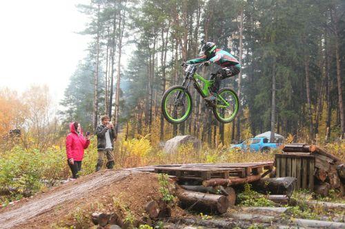 sports bike mountain bike