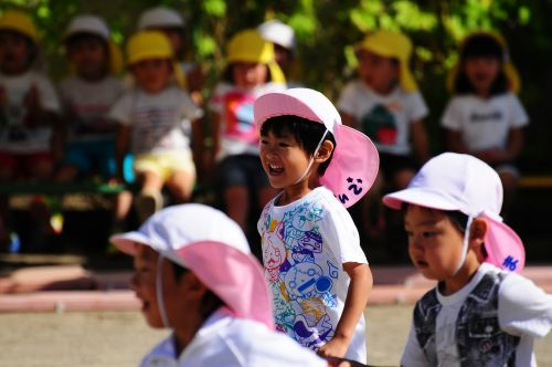 sports day relay kindergarten