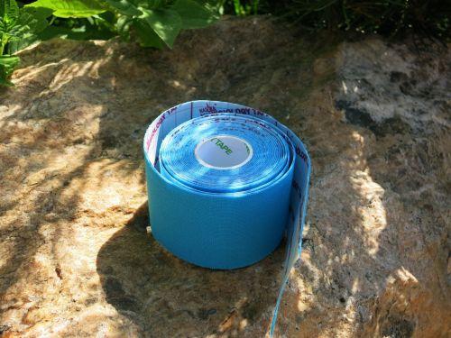sports tape band blue
