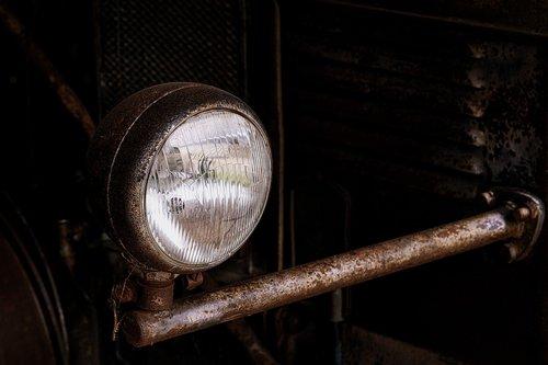 spotlight  old  rust