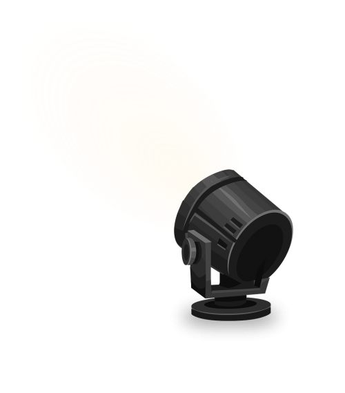 spotlight light illuminate