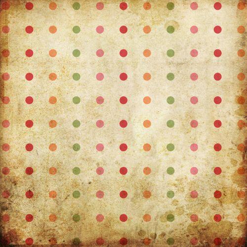 Spots, Dots, Grunge Background