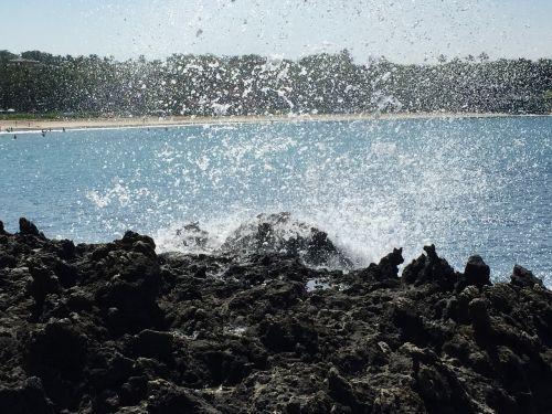 purkšti,vulkaninis,lava
