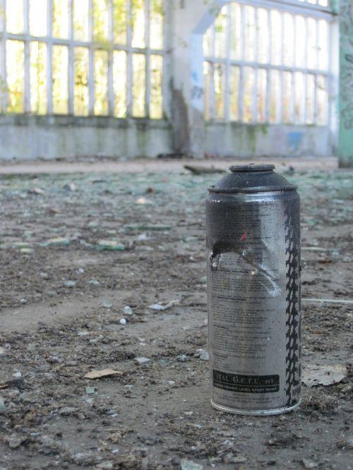 spray can graffiti shard