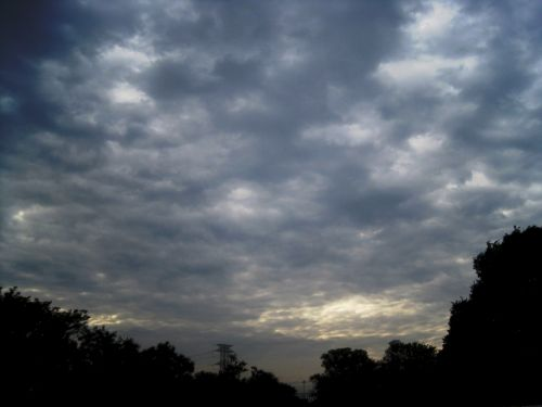 Spread Of Heavy Clouds