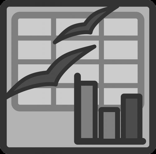 spreadsheet graph insert