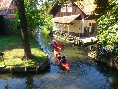 spreewald the spree river germany