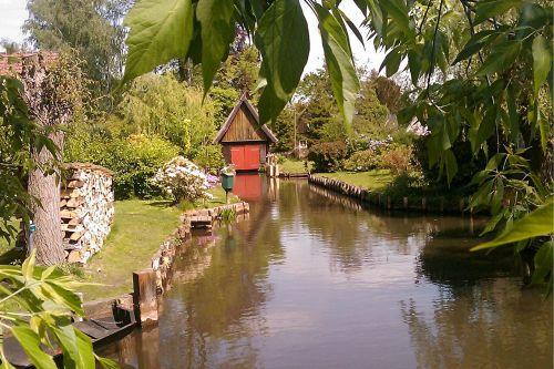 spreewald river boat house