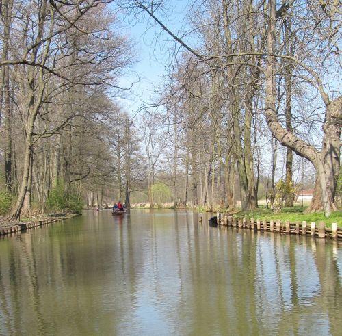 spreewald waterway landscape