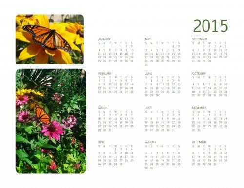 Spring 2015 Annual Calendar