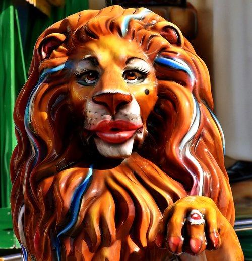 spring festival  oktoberfest  lion