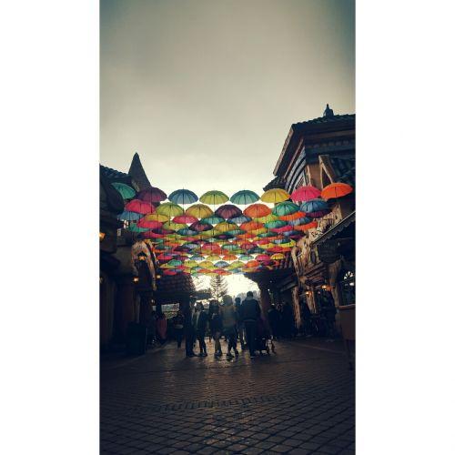 spring rain umbrella everland