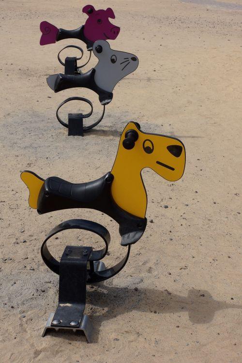 spring swing swing playground equipment