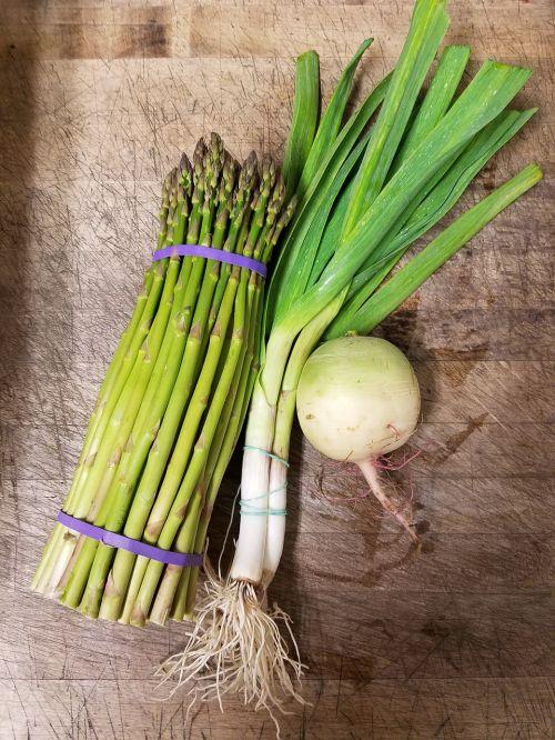 spring vegetables organic freshness