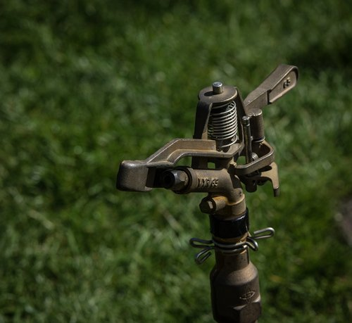 sprinkler  irrigation  garden