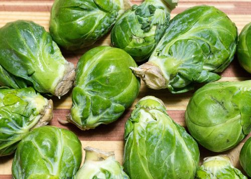 sprouts green veg