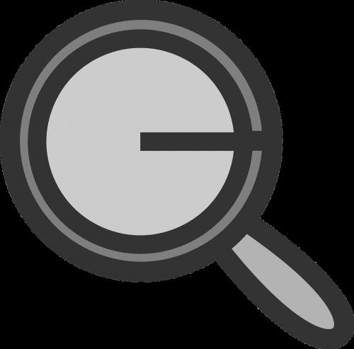 spyglass symbol icon