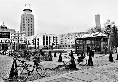 square architecture buildings