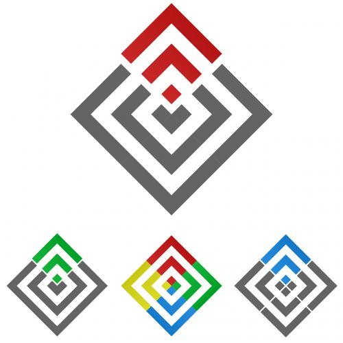 square logo square logo
