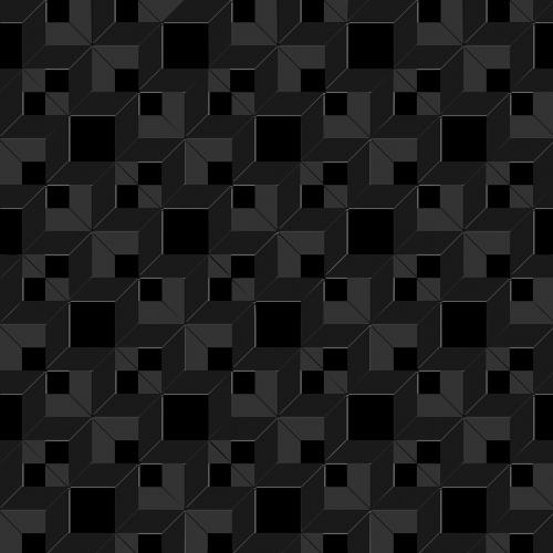squares black dark